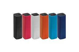 Powerbank 2200c:   Powerbank (Li-Ionen) aus Kunststoff mit einer Leistung von 2200 mAh und USB