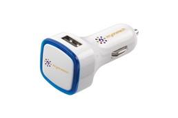 Auto-Ladegerät Karl: Aufladestecker für den Einsatz im Auto. Mit LED-Anzeige und 2 Ausgangsports: Ide