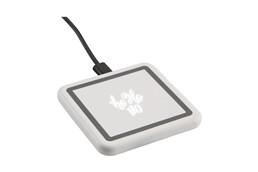 Kabelloses Ladegerät Expose: Kabelloses ABS-Ladegerät zum schnellen Aufladen von Mobiltelefonen. Auf der Lade