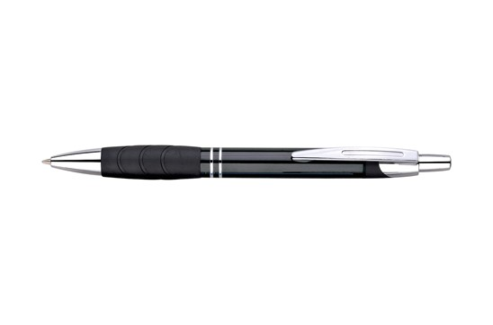 LOPU Grip Alu: Edler Druckkugelschreiber aus Metall mit Metall-Mine. Extra große Druckfläche!