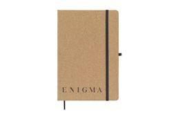 Kork Diary A5:   Umweltfreundlich, Notizbuch im A5-Format aus Kork. Mit ca. 80 Blatt cremefar