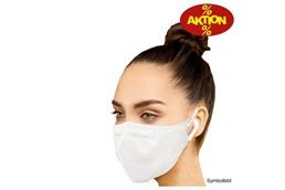 """Atemschutzmaske, FFP2, Aktionspreis:   """"FFP2 Atemschutzmasken mit einem Abscheidegrad von 92% gemäß EN 149:2001+A1:"""
