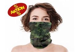 Schlauchtuch, Multifunktional - 20 % AKTION: Multifunktionelles nahtloses Schlauchtuch aus hochwertigem Mikrofaser-Polyester