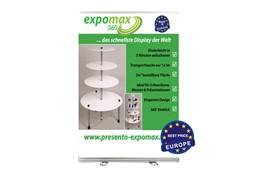 Roll-Up 150 x 200cm INKLUSIVE Latex-Digitaldruck samt Tasche: Roll-Up aus hochwertigem Aluminium für große Auflagen und kleines Budget. Für ei
