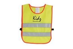 Kinder-Sicherheitsüberwurf EN 471/94 Klasse 2, CE/AZO-frei: in Polyestertasche