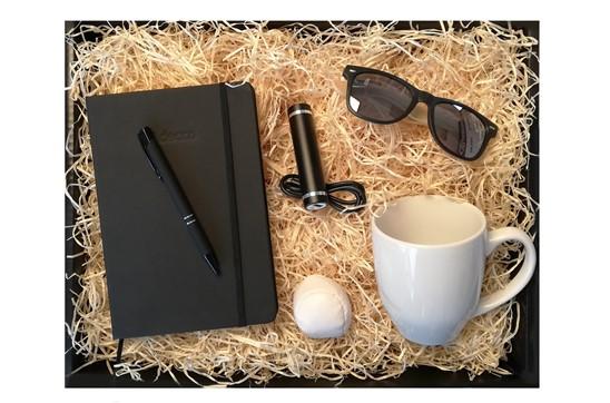 Schwarze Starter @Homeoffice Box:   Unsere Homeoffice Starter Box ist das ideale, kreative, praktische und persö