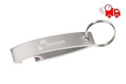 Tracer Speed Flaschenöffner EXPRESSVEREDELUNG Lieferung in 4 Tagen:   Schlüsselanhänger - Flaschenöffner aus leichtem Aluminium. Lieferung innerha