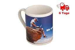 Tasse mit Aufdruck EXPRESSVEREDELUNG Lieferung in 6 Tagen:   Keramik Tasse inklusive 4C Rundum-Aufdruck. Bedrucken Sie Ihre Tasse mit jeg