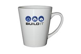 Tasse Detroit weiß:   Keramikbecher in hochwertiger Qualität. Fassungsvermögen 300 ml. Geschenk-/V