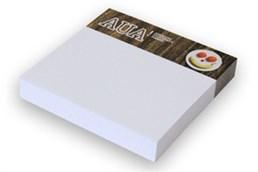 Haftnotizen 68 x 75 mm:   Haftnotizen, Papier weiß ca. 80g/qm, Format ca. 68 (Haftstreifen) x 75 mm /