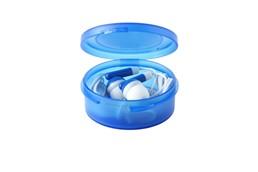 EarTin: In-Ear-Hörer mit praktischen Silikon-Stöpseln. In einer stylishen Box. Kabel (ca