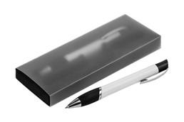 Etui FROST für 2 Schreibgeräte: Etui mit EVA-Einlage für 2 Schreibgeräte mit transparent gefrostetem Kunststoffs