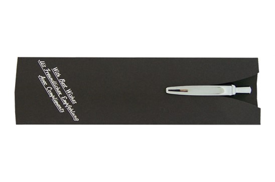 Etui NOIR: Stilvolles Etui für 1 Schreibgerät