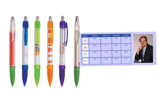 Maxi-Pen I:   Kein Werbeartikel lässt Ihnen im Verhältnis zur Größe so viel Platz für Ihre