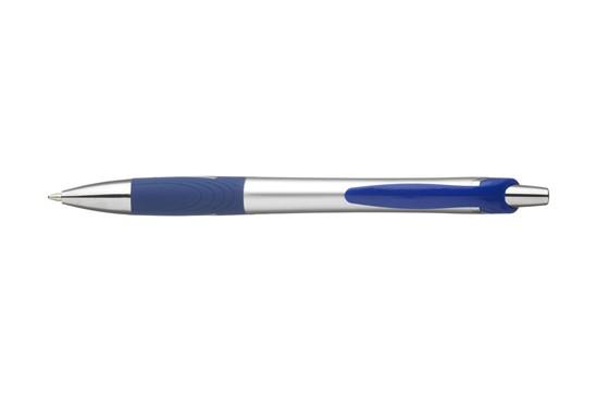 Curve Kugelschreiber: Kugelschreiber in einer Kombination aus mattem und hochglänzendem Kunststoff. Mi