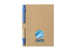 Nachhaltige Werbeartikel Notizbuch S:   Umweltfreundlich! Mininotizbuch aus recyceltem Material mit ca. 80 Blatt cre