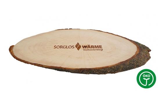 BARK Schneidbrett mit Rinde XS:   Hochwertiges Erlenholz-Schneidbrett mit Rinde. Da dieses edle Holzprodukt au
