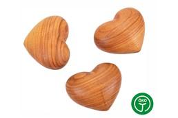 SOFT Handkuschler, Herz:   Holz Handkuschler in Form eines Herzens aus Buchenholz, geölt. Jedes Herz ei