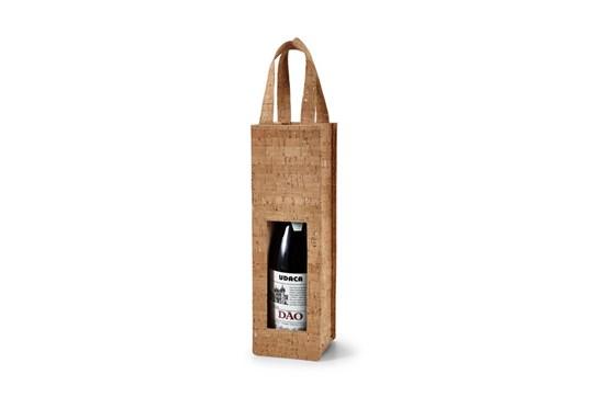 RINDE Weintasche: Diese Kork-Weintasche ist die edle, rustikale Variante der Weintasche und perfek