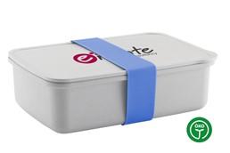 -10% AKTION!!! Bis 27.03.2020 - Bambus Lunchbox: Lunchbox aus 40% Nachhaltige Werbeartikellogischen Bambusfasers und 60% PP-Kunst