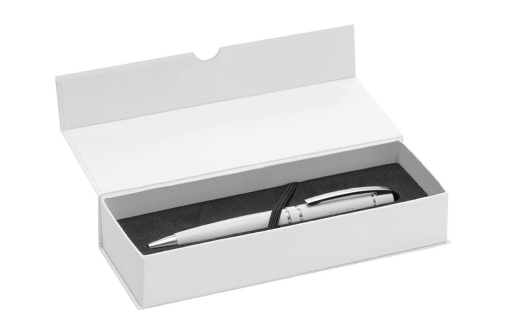 Etui Magnet für 2 Schreibgerät: Klappetui mit Magnetverschluss für 2 Schreibgeräte. Kartonschuber ebenfalls wie