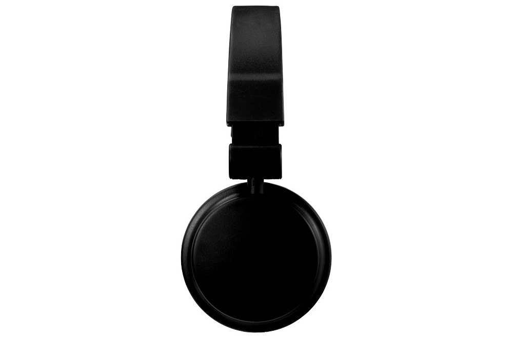 zusammenklappbarer Kopfhörer: Stylisher, zusammenklappbarer Kophfhörer mit einstellbarem, gepolstertem Kopfbüg