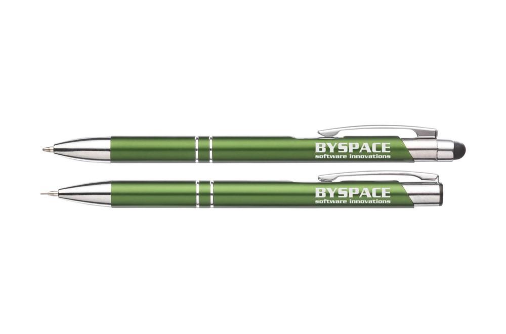 Schreibset LineUp:   Schreibset bestehend aus Touchpen und nachfüllbarer Bleistift mit 2 HB-Minen