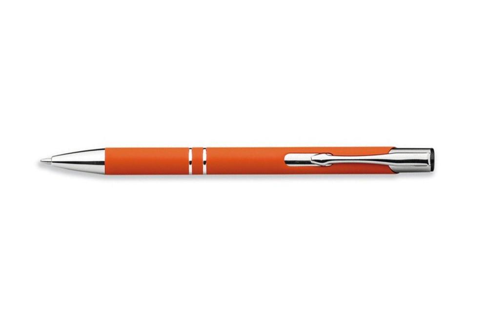 Delight Soft Kugelschreiber: Kugelschreiber gummiert. Unser Klassiker jetzt neu mit gummierten Schaft. Kugels