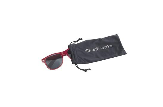 Soft Etui:   Etui zur Aufbewahrung von z. B. Brillen, Handyzubehör, etc. mit einem Zugban