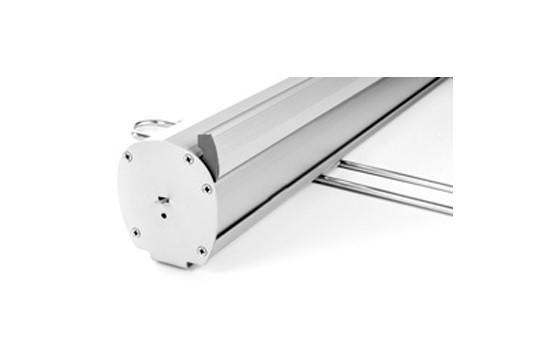 Roll-Up 85 x 200cm INKLUSIVE Latex-Digitaldruck samt Tasche:   Roll-Up aus hochwertigem Aluminium für große Auflagen und kleines Budget. Fü