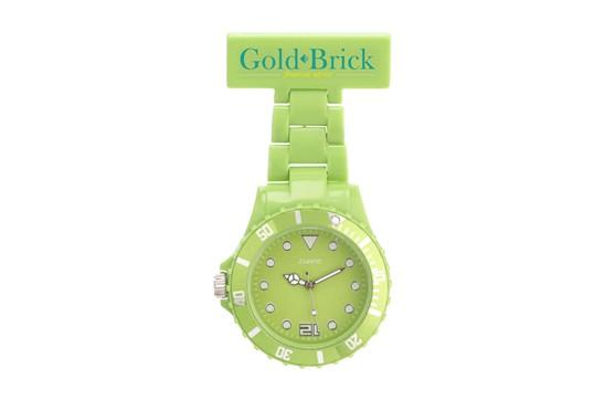 Pflege Uhr: Zeitgemäße, unisex Uhr für Menschen im Bereich Pflege. Mit verstellbarem Zeitrin