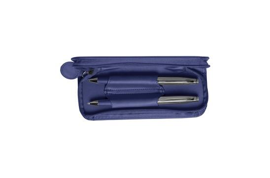 Shiva Schreibset: Praktisches Schreibset mit Kugelschreiber mit blauer Mine und Drehbleistift mit