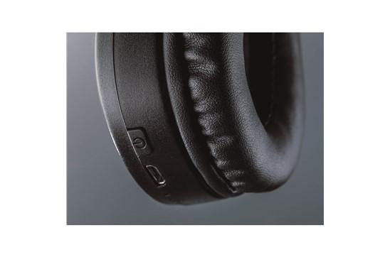 Bluetooth Kopfhörer Soundwave: Kabelloser, Bluetooth-ABS-Kopfhörer mit verstellbarem Kopfband und komfortablen