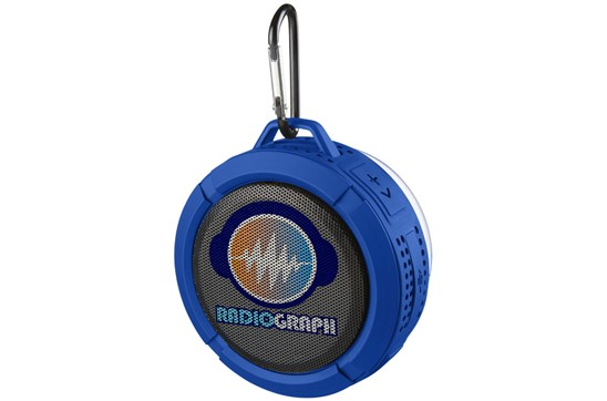 Bluetooth® Dusch und Outdoor Lautsprecher: Leichter wasserdichter (IPX5) Bluetooth® Lautsprecher mit einem internen Akku, d