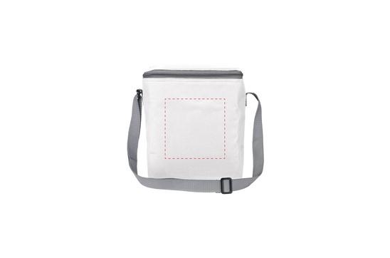 12 Pack Kühltasche Frosty: 600D-Polyester-Kühltasche, geeignet für 6 Getränkeflaschen (Inhalt 500 ml) oder