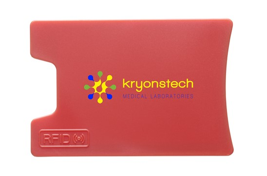 RFID Visitor Kartenhalter: RFID Kartenhalter aus ABS. Designed, um RFID-Readers davon abzuhalten Ausweise,