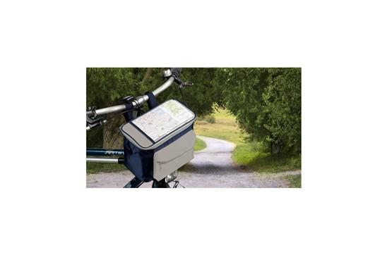 Bike Bag: Bike-Tasche mit großem Kühlfach und verstellbarem Schulterriemenaus, das Materia
