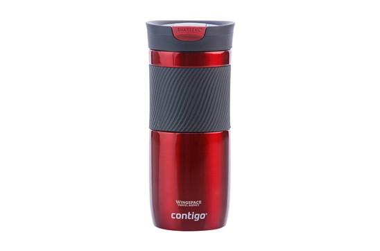 CONTIGO® Byron M Thermobecher:   Doppelwandige rostfreie Edelstahl-Thermoflasche: vakuumisoliert, versehen mi