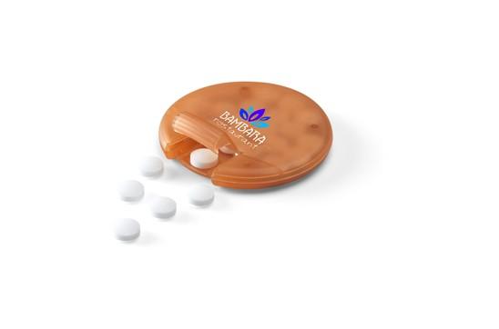 TASTE Mint: Praktischer Spender gefüllt mit ca. 2,5 g (18 Stück) frischen, zuckerfreien Pfef