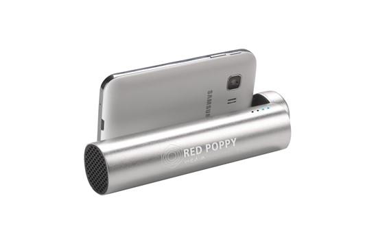 Powerbank Charge&Sound 3500: Powerbank mit praktischer 2-fach Funktion: Ladegerät mit integrierter Batterie (