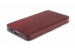 Strong-Wood Powerbank: Starke, rustikale Powerbank in Holzversion, verfügbar mit 4000 mAh. Mit dieser k