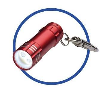 Schlüsselanhänger mit Licht