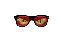 TEN Logo Sonnenbrille: Immer passende, auffallende Werbebrille mit UV 400 Schutz (gemäß europäischen No