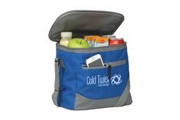 HADAR Kühltasche:   mit Fronttasche samt Reißverschluss, großem Kühlfach, Griff und Schultergurt