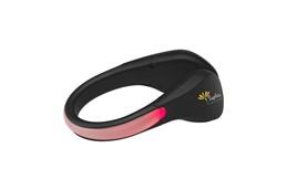 Sicherheitsclip Nightlight: Sicherheitsclip aus Hartkunststoff, den Sie um die Ferse eines Schuhs klemmen. A