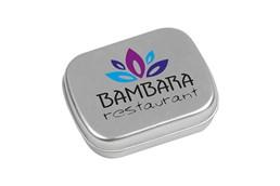 T-BOX Mint: Handliche Metalldose mit ca. 25 g frischen Pfefferminzdragees.