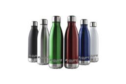 TOPLA Wasserflasche 500 ml: Doppelwandiger, rostfreie Wasserflasche. Mit tropfsicherem Schraubdeckel. Herges