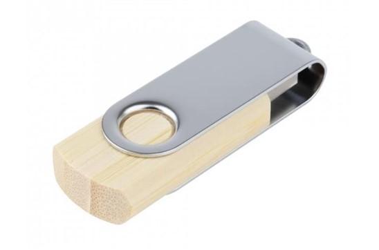 Basic-Bamboo USB -Stick:   Praktischer umweltfreundlicher USB-Stick aus Bambusholz. Verfügbare Speicher