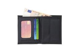 Blacklabel Brieftasche: Brieftasche aus Imitatleder, mit Einsteckfächern und Münzfach.