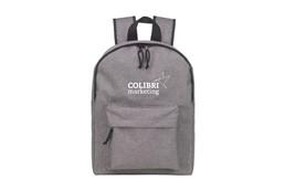 Tablet Backpack:   Geräumiger, robuster Rucksack in grau mit einem Hauptfach, gepolstertem Fach